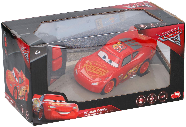 DICKIE - CARS 3 LIGHTNING MCQUEEN SINGLE DRIVE