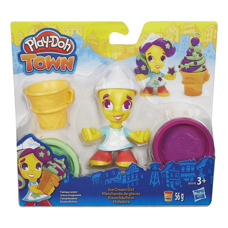 Play -Doh Town Figure Assorted