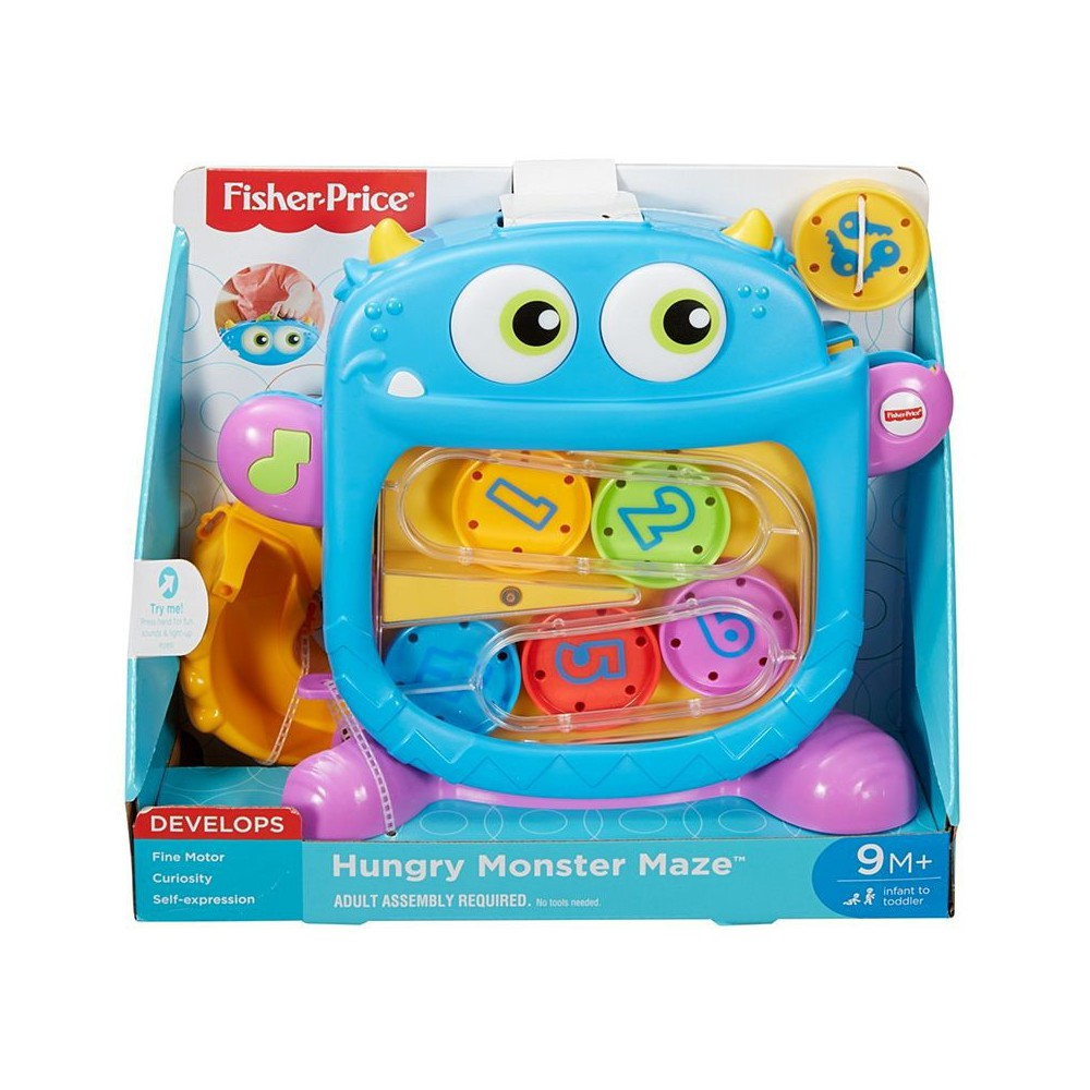 MATTEL FISHER PRICE - HUNGRY MONSTER MAZE