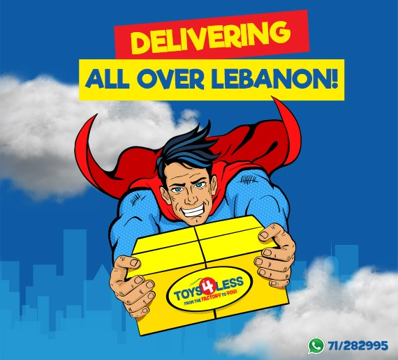 Toys4less Lebanon S Branded Outlet Toy Store